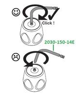 Контрольное приспособление для проверки динамометрического ключа, уп. 3 шт 2030-150-14E
