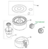 Клапан для сепаратора CS1  (4 шт в уп.) 7117-420-41E