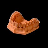 Гипс стоматологический Uni-base 300 (коричнево-золотой)